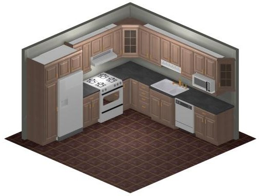 Kitchen Design Nepali