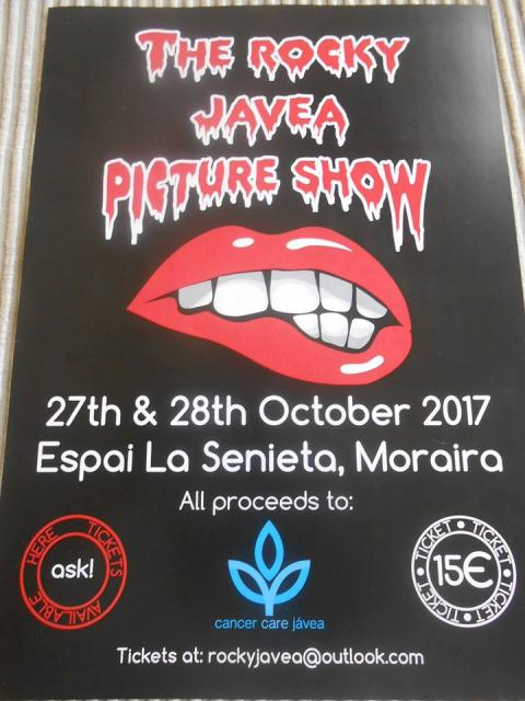 The Rocky Javea Picture Show